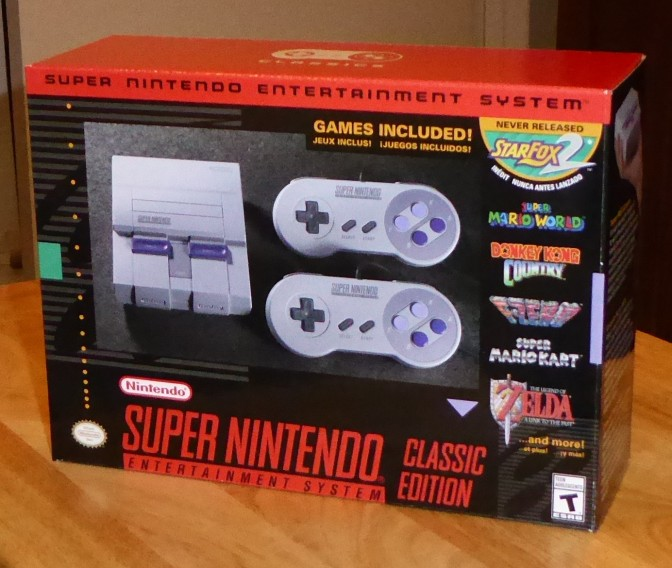 Things That Bring Me Joy: Happy SNES Classic Edition release day!